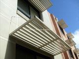 Ombrage solaire en aluminium anodisé