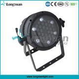 급상승 36X3w 자연적인 냉각 쇼 LED 동위 경음악 빛