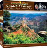 グランドキャニオンの北の縁500部分のジグソーパズル
