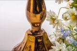 Золотистый держатель для свечи 5 плакатов для украшения венчания