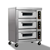 Gutes Quality Doppeltes-Layer Four-Tray Gas Pizza Oven für Bread Baking