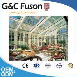 Folha de policarbonato para coberturas e vidros duplos em pérgulas e Sunrooms
