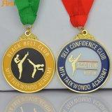 リボンが付いている高品質亜鉛合金メダル