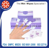 Vernis à ongles Supprimer les lingettes Wet Wipes Makeup Remover Wipes