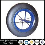 외바퀴 손수레 트롤리 손수레를 위한 단단한 고무 분말 피마자 바퀴