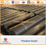 Высокое качество 40X40кн Geogrid из стекловолокна для защиты уклона и дорожное строительство