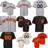 名前をあらゆるNo.カスタマイズした。 どのチームロゴの人の女性の子供サンフランシスコジャイアンツでも基礎野球のジャージを冷却する