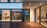 Vidro duplo Slimline Slimline elegante janelas e portas de alumínio