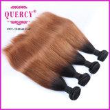 Trama brasileira do cabelo da cor de Omber da venda 2016 quente, cabelo humano do Virgin natural da polegada 8-32