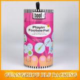 Полноцветная печать картонные коробки бумаги за круглым столом (BLF-PB042)