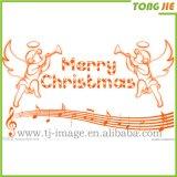 Decoração personalizada Tongjie Adesivo de parede de Natal
