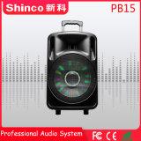 Shinco 15 Zoll grosse Energien-nachladbare Batterie drahtlose Bluetooth Lautsprecher-mit LED-Licht