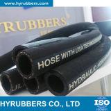 Boyau en caoutchouc mou hydraulique du boyau SAE100 R3