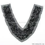 Acrílico mayorista Collar Borla Cordón Estrás tejido de hilo de accesorios de prendas de vestir