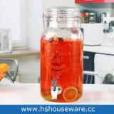 2 л со стеклянным кувшином диспенсер для напитков с помощью рукоятки