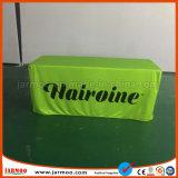 Jarmoo ha stampato il coperchio misura panno verde della Tabella del tessuto di colore della priorità bassa