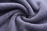 Сплошным цветом хлопка Dobby внизу банными полотенцами.