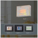 Van de LEIDENE van de Uitgang van het Aluminium en van pvc Taliet Lamp de van uitstekende kwaliteit Muur van het Signaal
