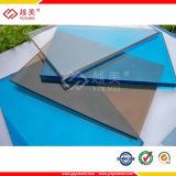 Bâtiment en plastique 100% Lexan Virgin Material Solid Hollow Carte ondulée PC pour toiture Bus Stand Serre