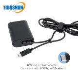 30W Laptop van de Adapter type-C Pd van de Macht van usb-c de Adapter van de Lader voor DELL