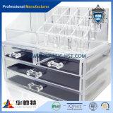 4 Schicht-Acrylschaukarton mit Verschluss-Acrylschaukarton für Butike