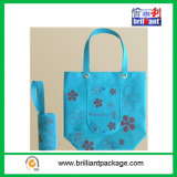 Non-Woven dobrado Shopping Bag para Shopping Storage