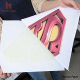 Luz Papel de prensa del calor del papel de transferencia de calor para la máquina de impresión de la camiseta