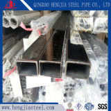Tubo rettangolare dell'acciaio inossidabile per la decorazione