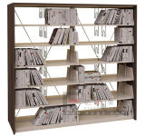 De houten Boekenplank van de Bibliotheek, Het Meubilair van de Bibliotheek, het Meubilair van de School