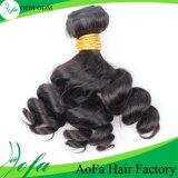 Capelli umani del Virgin del brasiliano di estensione 100% dei capelli umani dell'onda del corpo