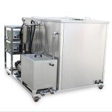 Puissant 2000L Double Rinçage des réservoirs de lavage fait sur mesure de nettoyage à ultrasons bouillonnant Spray nettoyant industriel