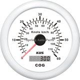 Compteur de vitesse GPS 0-6085mm noeuds avec l'accouplement et de rétroéclairage de l'antenne pour le bateau Yacht