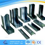Der Partition-StahlProfile/C Stahlrahmen-Arbeit Stift-des U-Profilstäbe/90*45*0.9mm/Partition