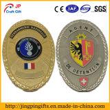 Рекламные металлический штырь Gold Award сувенирный полиции логотип