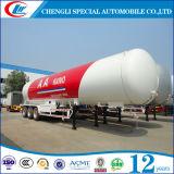 3 판매를 위한 반 차축 56cbm LPG 가스 트레일러