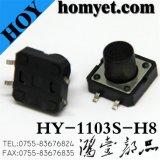 interruptor de tecla tátil do interruptor 4pin de 12*12mm SMD