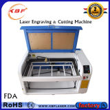 Estaca do laser do CO2 do CNC & máquina de gravura para metalóides