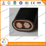 2*8 концентрический кабель кабеля обслуживания оболочки PVC проводника AWG 2*10AWG медный изолированный XLPE