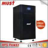 LCD 디스플레이 3 단계 온라인 UPS 10kVA에 80kVA