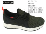 D. Couleurs Vertes Flyknit chaussures de sport