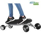 Scooter de coup-de-pied d'Ecorider, planche à roulettes électrique comique de 4 roues