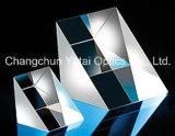 Prisma triangolare ad angolo retto di vetro ottico del silicone fuso dei prismi Bk7