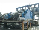 모래 자갈 처리 시스템을%s 100-150t/H 수용량 탈수하거나 채광 스크린 찌끼