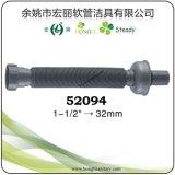 Flexible de vidange de PP extensible pour les déchets du dissipateur avec couvercle et joint