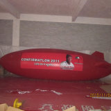 광고를 위한 팽창식 Zeppelin