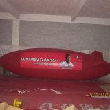 Zeppelin gonfiabile per la pubblicità