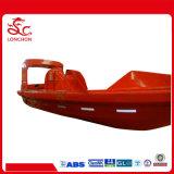 Bote de salvamento do barco salva-vidas do uso GRP do barco de pesca