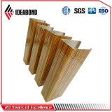 Look matériaux décoratifs en bois Ideabond bobine en aluminium