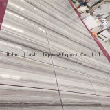 Мрамор Китая кристаллический белый деревянный Veined