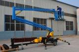 低価格の中国のベストセラーのセリウムは高品質の望遠鏡の移動式油圧ブームの上昇を承認した